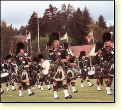 Picture: Royal Highland Gathering, near Royal Lochnagar